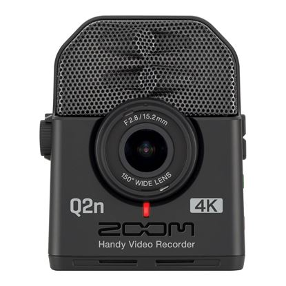 Zoom Q2n-4K Handy Video Recorder - Front
