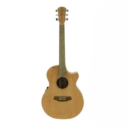 Cole Clark Angel 1 Series Acoustic Guitar - Southern Silky Oak - Front