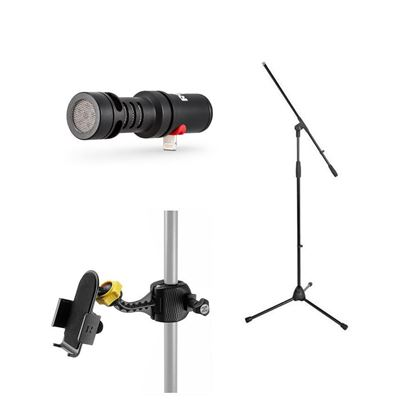 Rode Video Mic ME-L Podcasting and Streaming Bundle