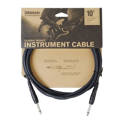 "Planet Waves Classic Series 10ft 1/4"" Instrument/Guitar Cable"