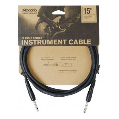 """Planet Waves Classic Series 15ft 1/4"""" Instrument/Guitar Cable"""