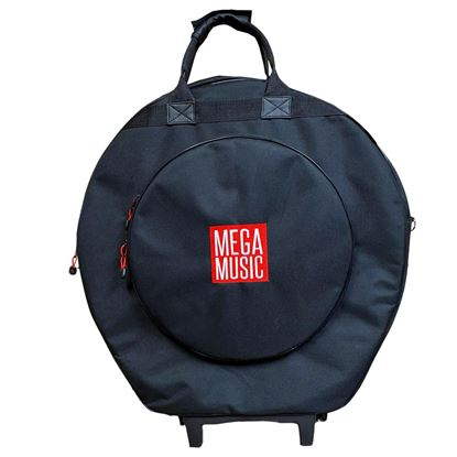 Xtreme CE584W 22in Cymbal Bag with Wheels - Mega Music