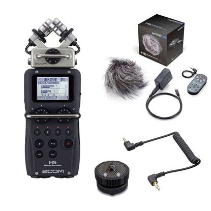 Zoom H5 + Accessory Pack + HS-1 Mount