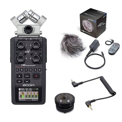 Zoom H6 + Accessory Pack + HS-1 Mount