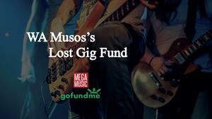 WA Lost Gigs Fundraiser and Live Stream