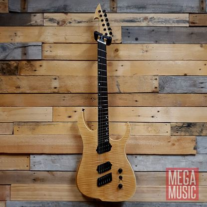 Ormsby Run 6 Hype GTR Multi Scale Electric Guitar - Natural  - Front