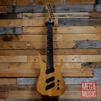 Ormsby Run 6 Hype GTR Multi Scale 8 String Electric Guitar - Natural - Front