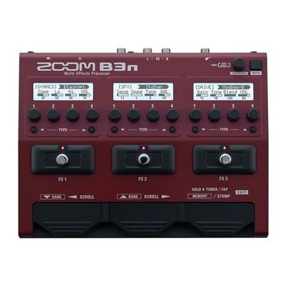 Zoom B3n Bass Effects & Amp Simulator