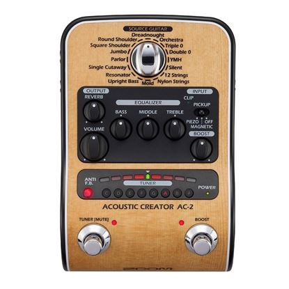 Zoom AC-2 Acoustic Effects & Amp Simulator