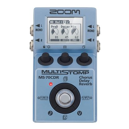 Zoom MS-70CDR Chorus Delay Reverb - Front