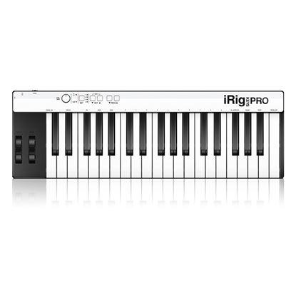 IK Multimedia iRig Keys 37 Pro USB - 37 Full-size Key USB MIDI Keyboard Controller for MAC/PC - Top