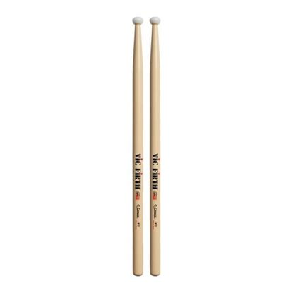 Vic Firth Corpsmaster® Multi-Tenor stick - Nylon Tip Drumsticks