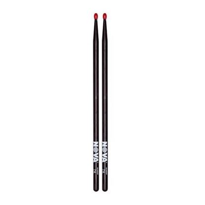 Vic Firth 7AN in Black with NOVA imprint - Nylon Tip Drumsticks