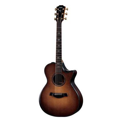 Taylor 912ce Builders Edition Acoustic Guitar - Wild Honey Burst - Front