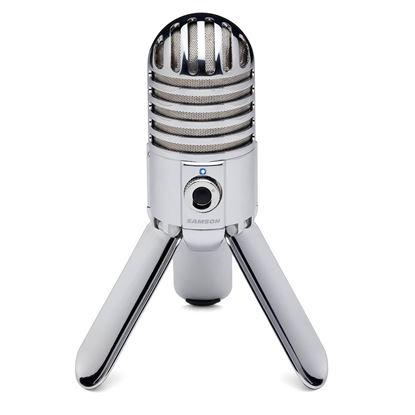 Samson Audio Meteor 1in Diaphram USB Condnser Microphone - Front
