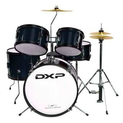 DXP TXJ7BK Junior Series 5-piece Drum Kit - Black