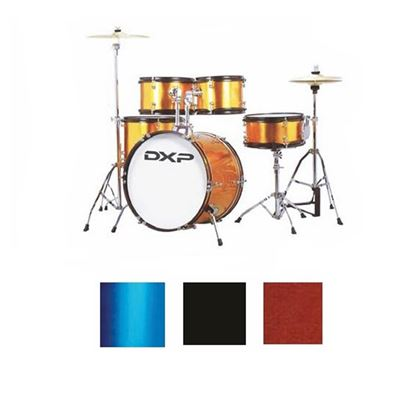 DXP TXJ7MBL Junior Series 5-piece Drum Kit - Midnight Blue