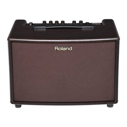 Roland AC-60 Acoustic Chorus Guitar Amplifier- Rosewood - Top Front