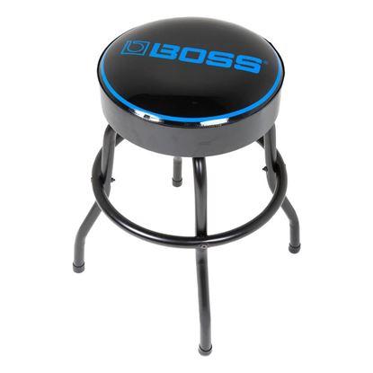 Boss BBS24 Short Barstool with BOSS Logo