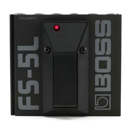 Boss FS-5L Footswitch Latching Black - Front