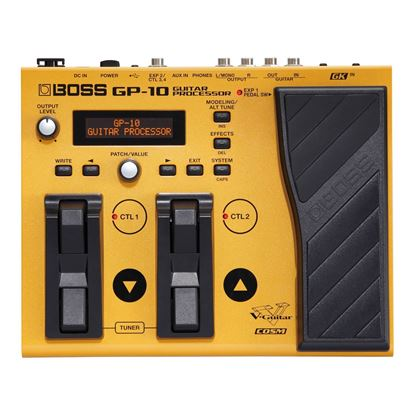 Boss GP-10GK Guitar Processor With GK-3 Pickup - Top
