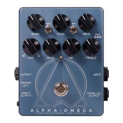 Darkglass AO Alpha Omega Bass Effects Pedal - Front