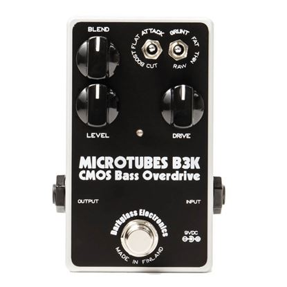 Darkglass B3KV2 MicroTubes CMOs Bass Overdrive Bass Effects Pedal
