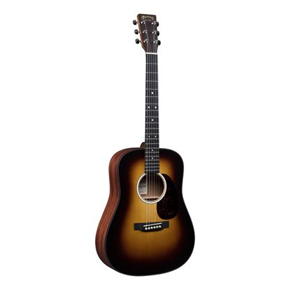 Martin DJR10E Dreadnought Junior Burst Acoustic Guitar with Pickup