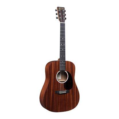 Martin DJR10E Dreadnought Junior Sapele Acoustic Guitar with Pickup - Front