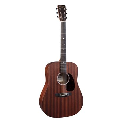 Martin D10E Road Series Dreadnought Acoustic Guitar with Pickup in Sapele - Front