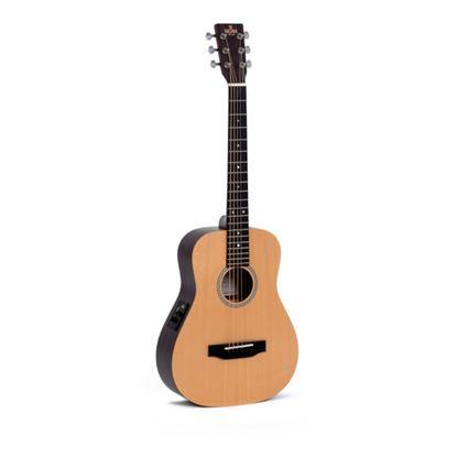 Sigma TT12e Traveller Acoustic Guitar with Bag - Body