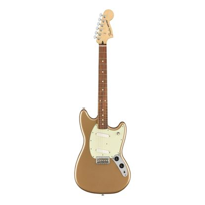 Fender Player Mustang Electric Guitar - Pau Ferro Fretboard - Firemist Gold - Front