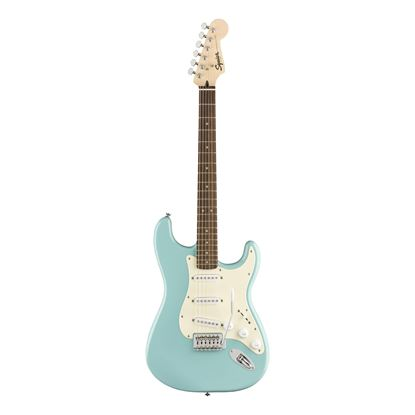 Squier Bullet Stratocaster Electric Guitar - Laurel Fretboard - Tropical Turquoise - Front