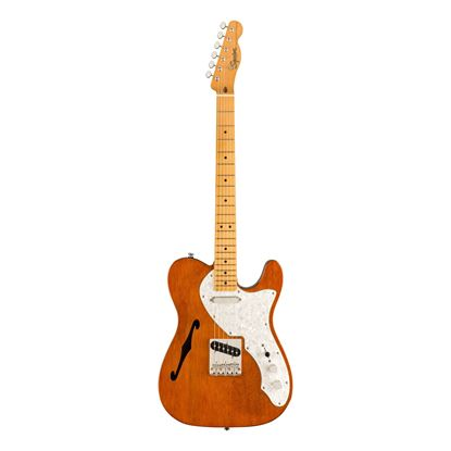 Squier Classic Vibe 60s Telecaster Thinline Electric Guitar - Maple Neck - Natural