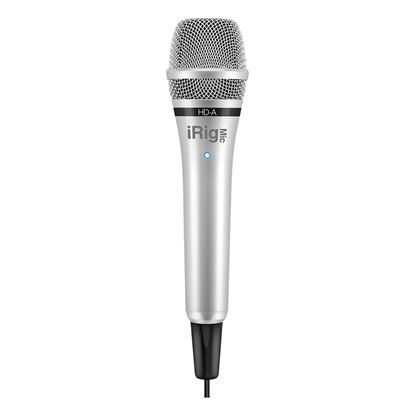 IK Multimedia iRig Mic HD-A - Digital Handheld Microphone for ANDROID / PC - Front