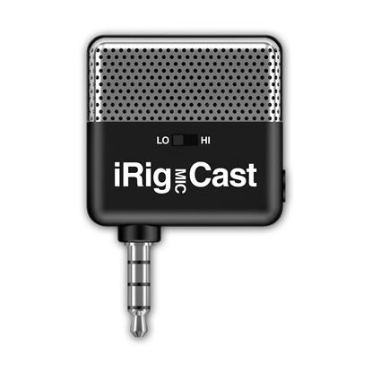 IK Multimedia iRig Mic Cast Microphone for iPhone & iPad - Front