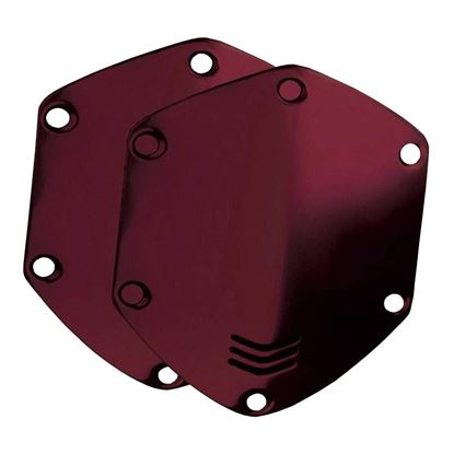 V-Moda Over-Ear Metal Shield Kit (Crimson Red)