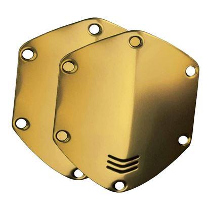 V-Moda Over-Ear Metal Shield Kit (Gold)