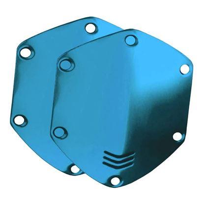 V-Moda Over-Ear Metal Shield Kit (Ocean Blue)