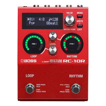 Boss RC10R Rhythm Loop Station Guitar Effects Pedal  - Front