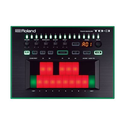 Roland AIRA TB-3 Touch Bassline Bass Synthesizer (TB3) - Front