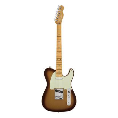 Fender American Ultra Telecaster Electric Guitar - Maple Neck - Mocha Burst
