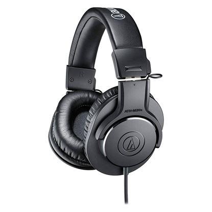 Audio Technica M20X Studio Monitoring Headphones (Short Lead Version) - Angle