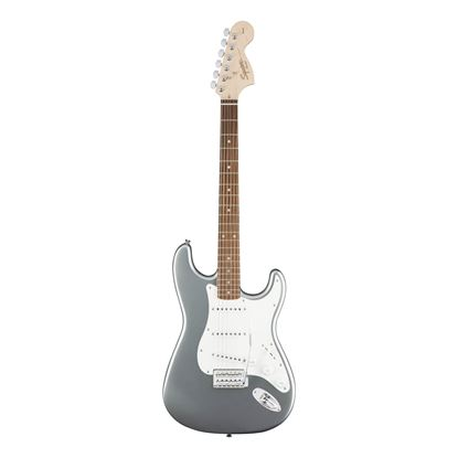 Squier Affinity Stratocaster Electric Guitar - Laurel Fretboard - Slick Silver - Front