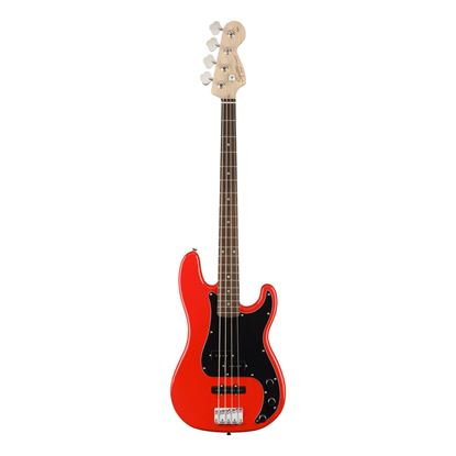 Squier Affinity Precision Bass Guitar - Laurel Fretboard - Race Red - Front
