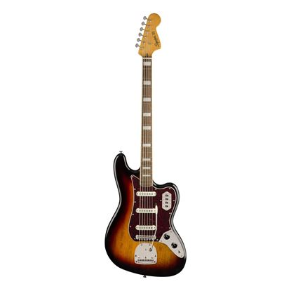 Squier Classic Vibe Bass VI - Laurel Fretboard - 3-Colour Sunburst - Front