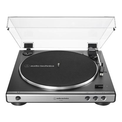 Audio Technica LP60X Fully Automatic Belt-Drive Stereo Turntable in Gun Metal