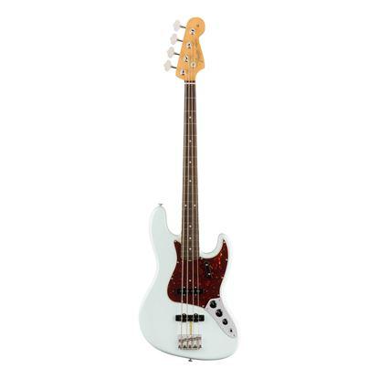Fender American Original 60s Jazz Bass Guitar - Rosewood Fretboard - Sonic Blue - Front