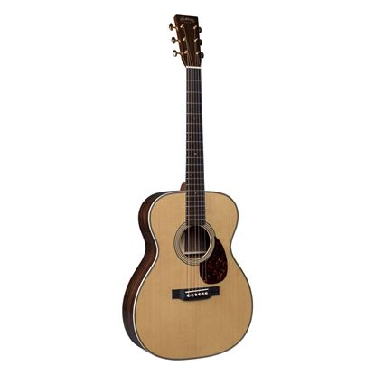 Martin OM28MD Modern Deluxe Orchestra Model Acoustic Guitar - Front