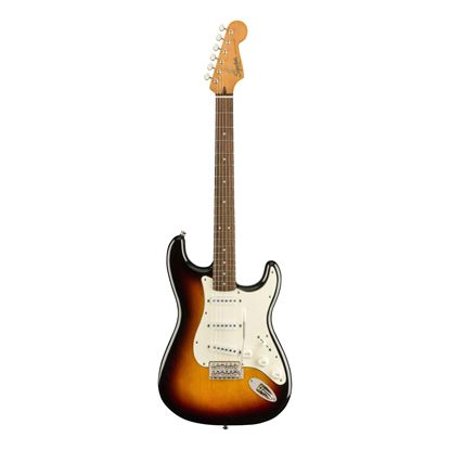 Squier Classic Vibe 60s Stratocaster Electric Guitar - Laurel Fretboard - 3-Colour Sunburst - Front